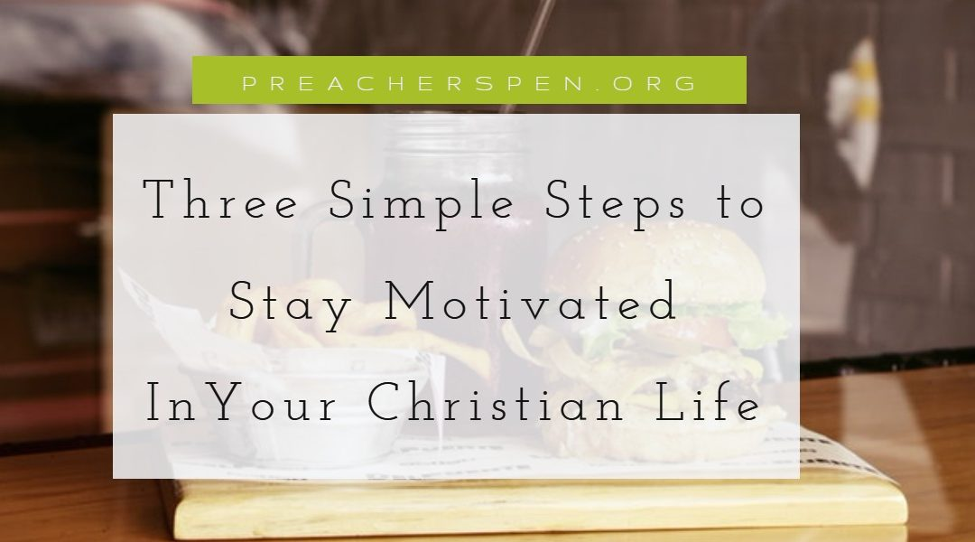 Three Steps to Stay Motivated