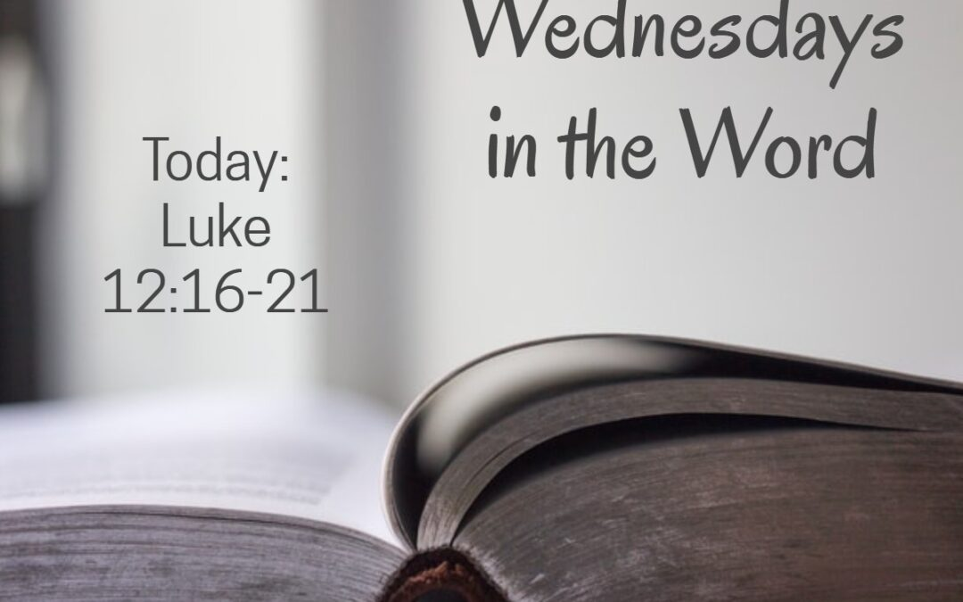Wednesdays in the Word – January 20, 2021