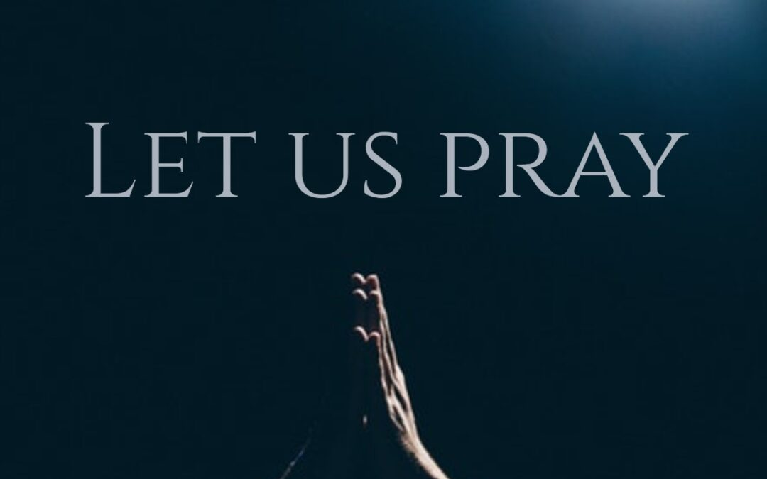 What Do You Pray For Each Day?